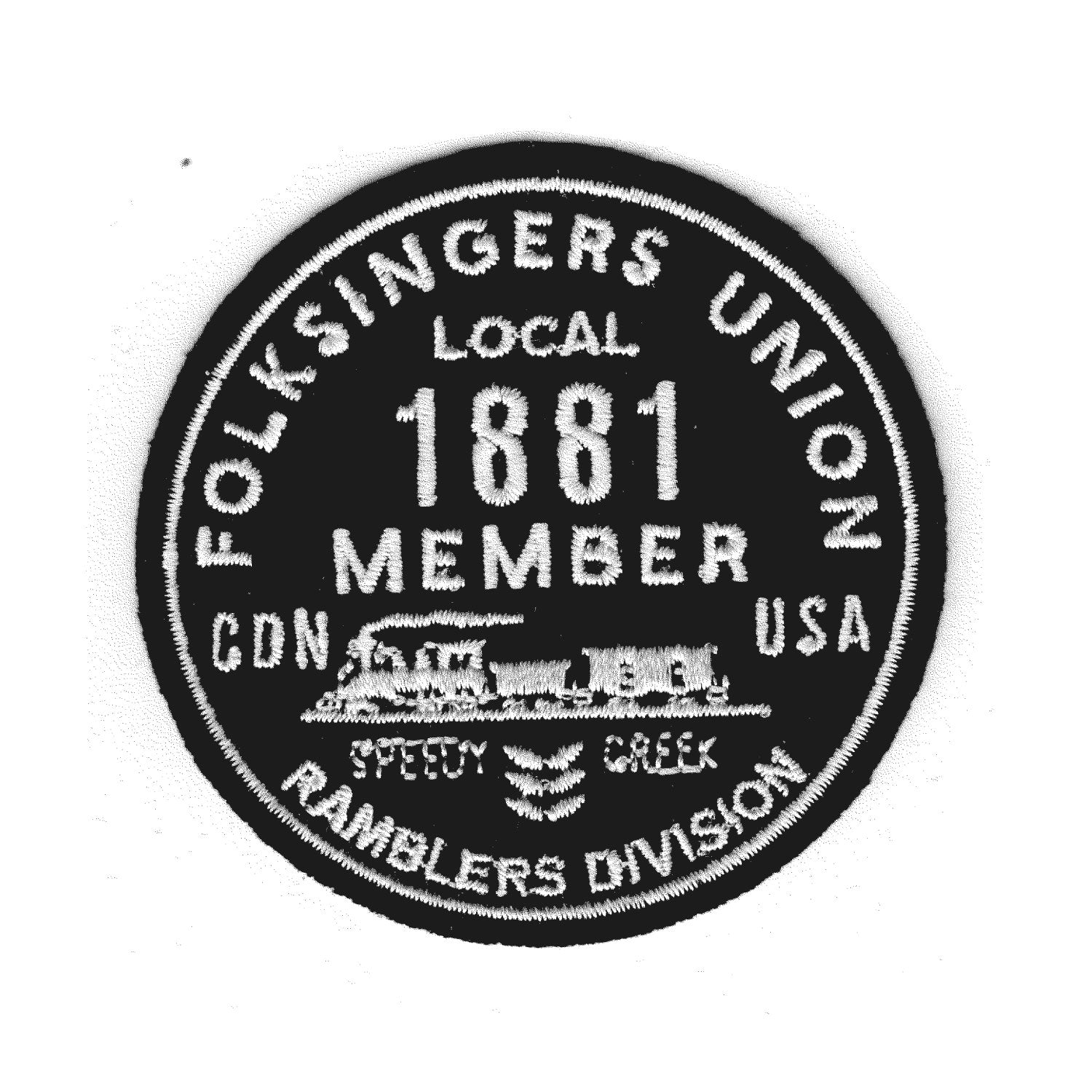 Folksingers Union Patch