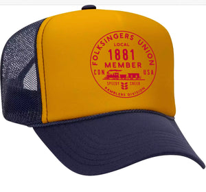Folksingers Logo Screen Printed Hat