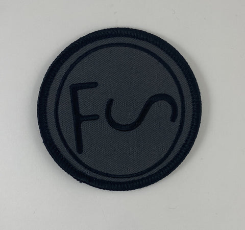 Folksingers Union Cattle Brand Patch - Black