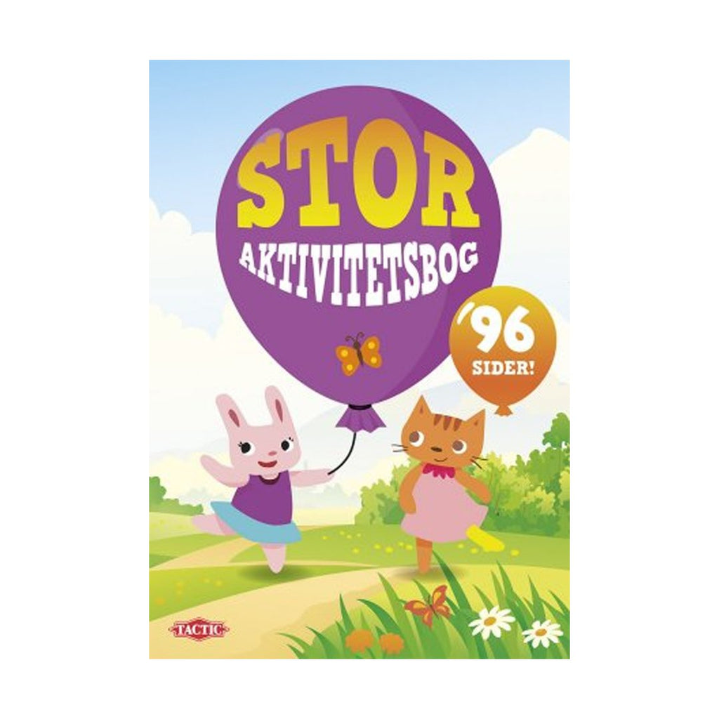 Stor aktivitetsbog - NO1shop