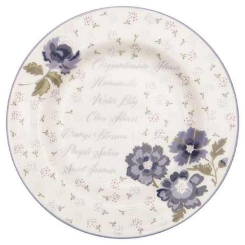 Greengate - Tallerken Beatrice White - Small (15 cm) - NO1shop