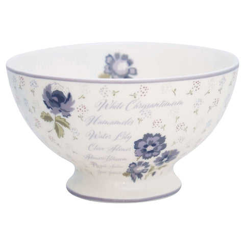 Greengate - Soup Bowl Beatrice White (15 cm) - NO1shop
