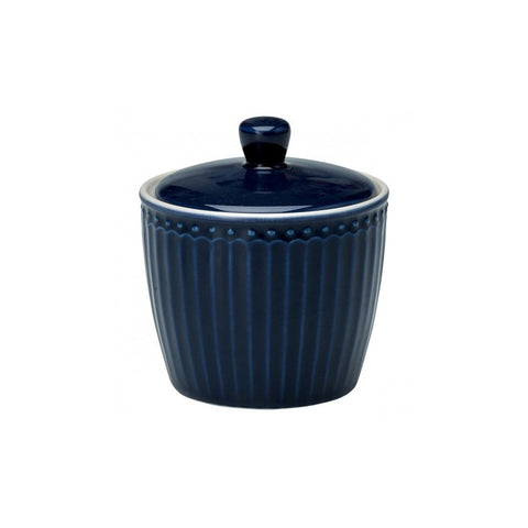 Greengate - Sugar Pot Alice Dark Blue (10 cm) - NO1shop