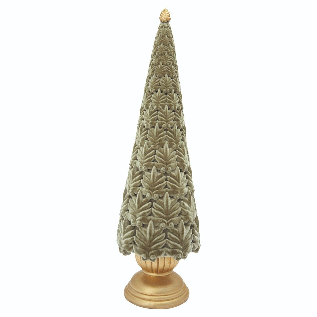 Greengate - Xmas Tree Velvet Dusty Green - NO1shop