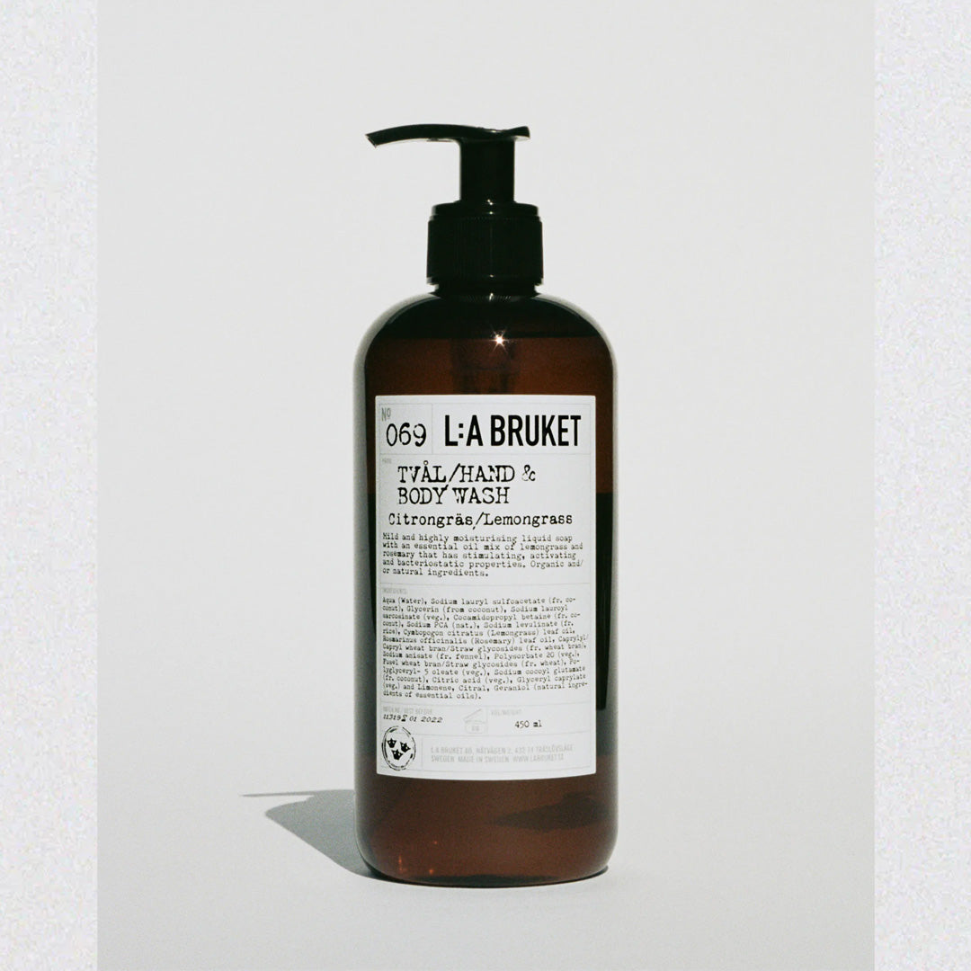 LA:Bruket Hand & Body Wash LG 450 ML