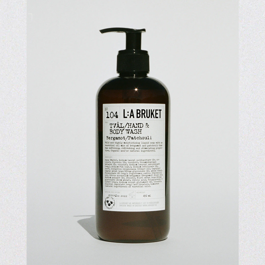 LA:Bruket Hand & Body Wash B/P 450 ML