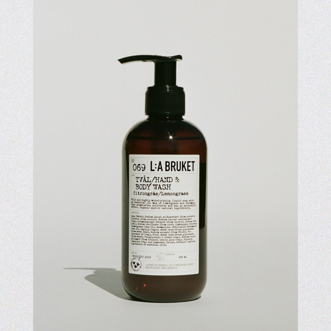 LA:Bruket Hand & Body Wash LG 250 ML