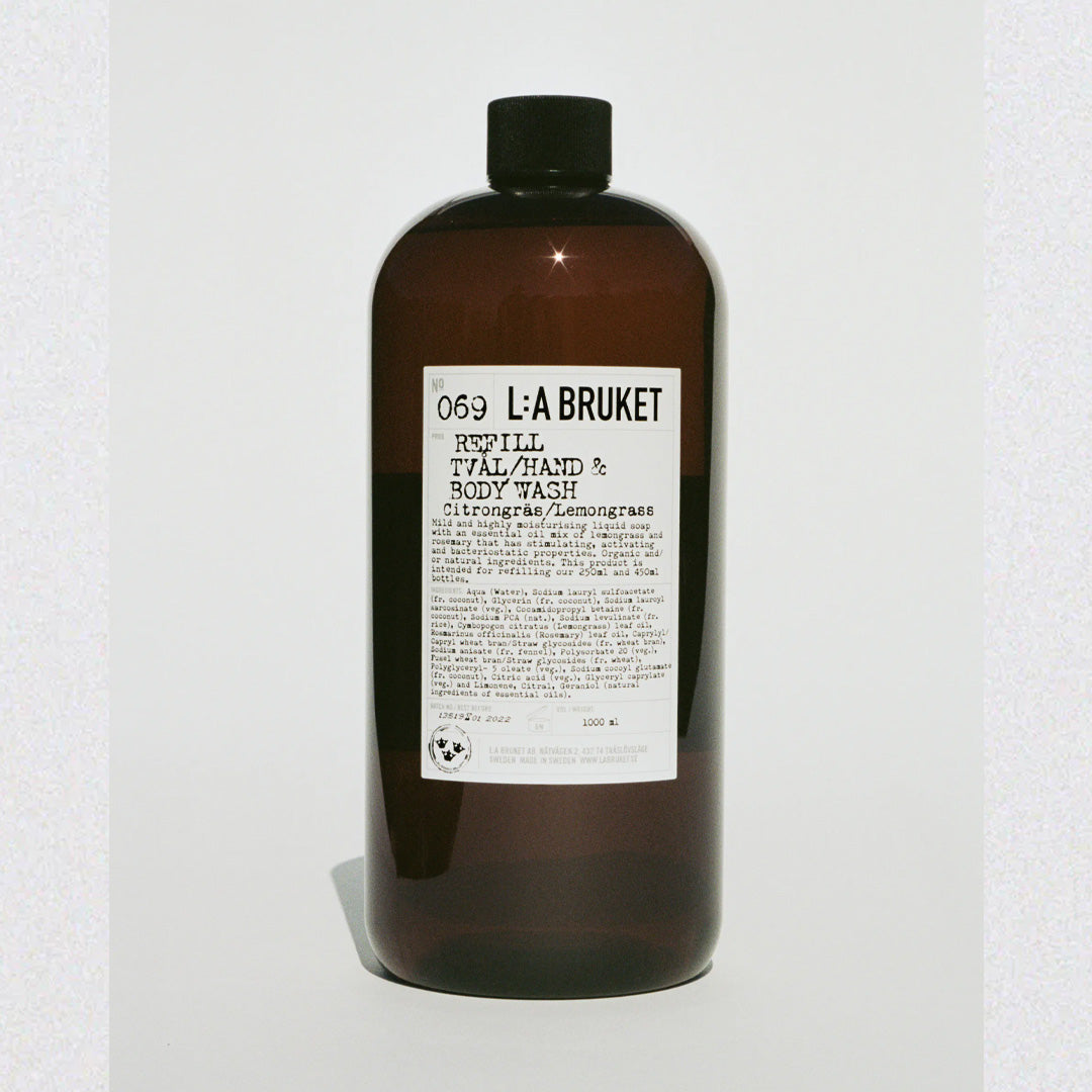 LA:Bruket Refill Hand & Body Wash LG 450 ML