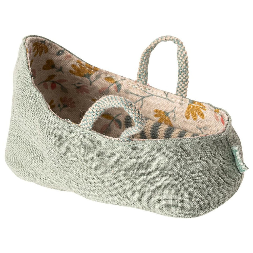 Maileg - Babylift, Dusty Green (6 cm) - NO1shop