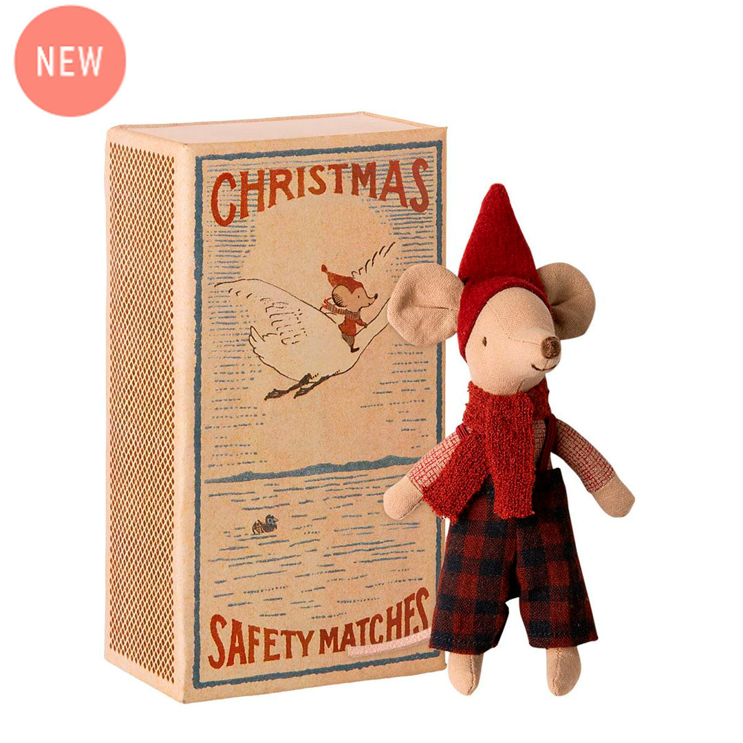 Maileg - Christmas Mouse In Box - Big Brother (17 cm)