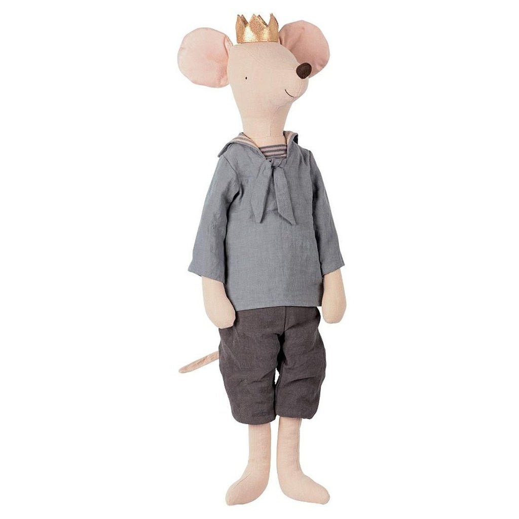 Maileg - Mega Mouse Prins - 65 cm - NO1shop