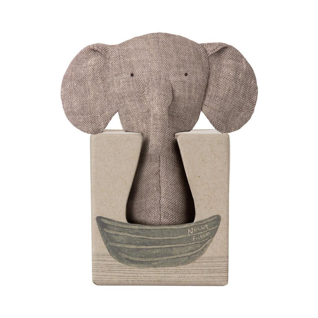 Maileg - Elefant Rattle, Noah´s Friends (12 cm) - NO1shop