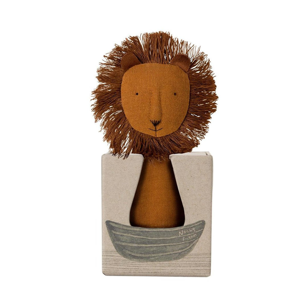 Maileg - Løve Rattle, Noah´s Friends (12 cm) - NO1shop