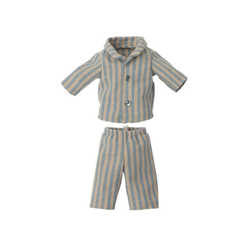 Maileg - Pyjamas til Teddy Bamse, Junior