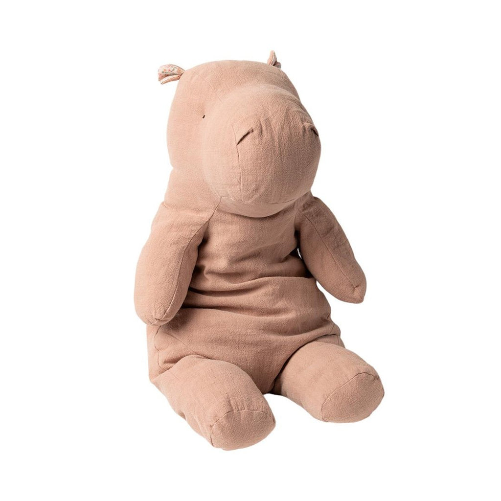 Maileg - Big Hippo, Safari Friends - Dusty Rose (54 cm) - NO1shop
