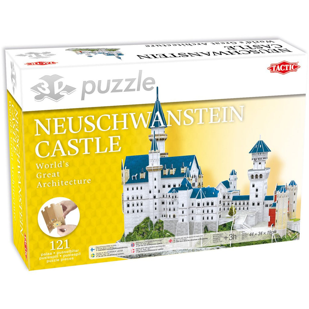 3D Puzzle Neuschwanstein Castle - NO1shop