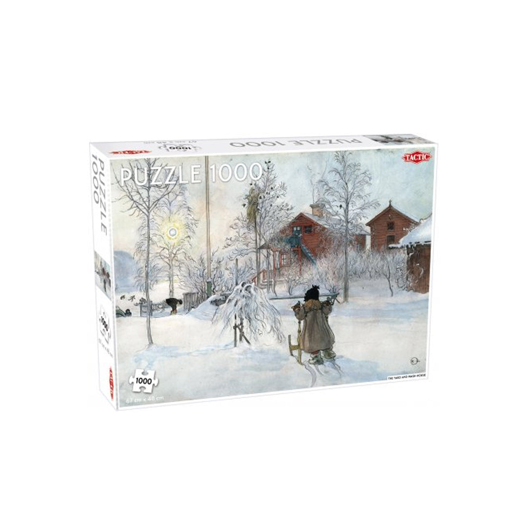 The Yard and Washhouse 1000 pcs puzzle