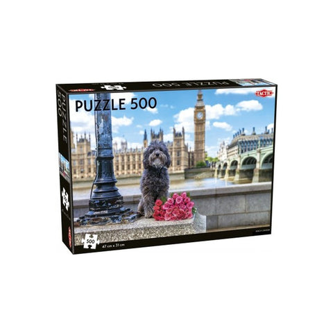 Dog in London 500 pcs puzzle