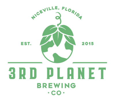 3rd Planet Brewing logo