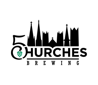 5 Churches brewing logo
