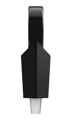 Resin tap handle side profile perfect for your brewery branding.
