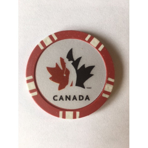 Team Canada- Ball Marker/Poker Chip
