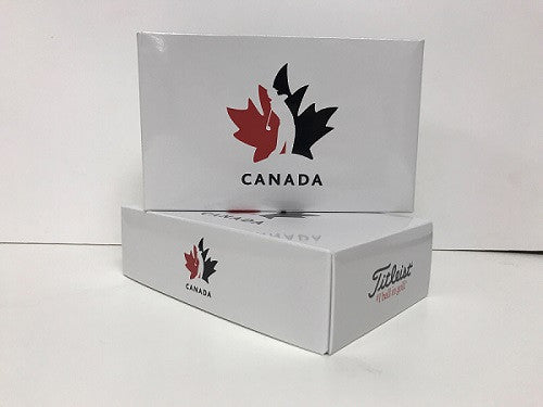 Team Canada Titleist 1/2 Dozen ProV1 Golf Balls