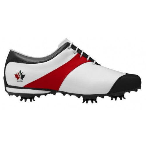 Team Canada - Ladies FootJoy LoPro Spiked Shoes #97330 (Pre-order 3-4 week delivery)
