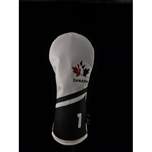 Team Canada Dormie Leather Headcover - Ace