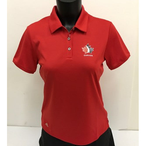 Official Team Canada Adidas Ladies Shirt - Red