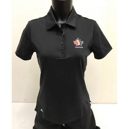 Official Team Canada Adidas Ladies Shirt - Black