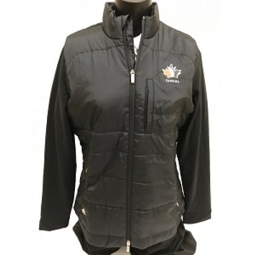 Official Team Canada Adidas Ladies Jacket - Black