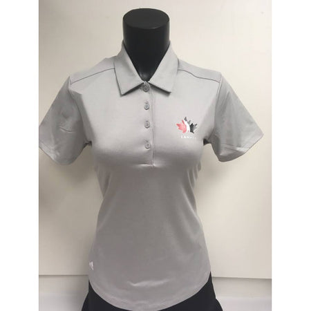 CLEARANCE - Official Team Canada Adidas Ladies shirt- Grey