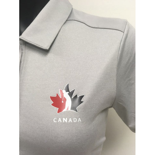 Official Team Canada Adidas Ladies shirt- Grey