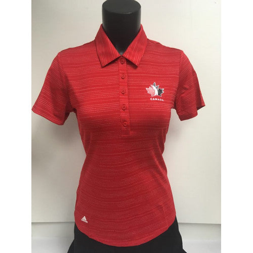 Official Team Canada Adidas Ladies shirt- Red