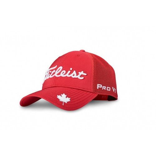 Limited Edition Canadian Collection Tour Performance Mesh Hat - Red
