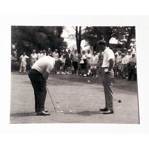 Arnold Palmer and Jack Nicklaus Postcard