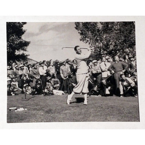 Bobby Locke 1947 Canadian Open postcard