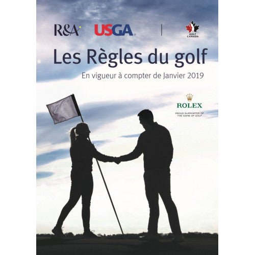 Les Regles du golf - French