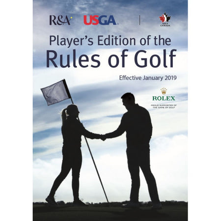 Player's Edition of the Rules of Golf