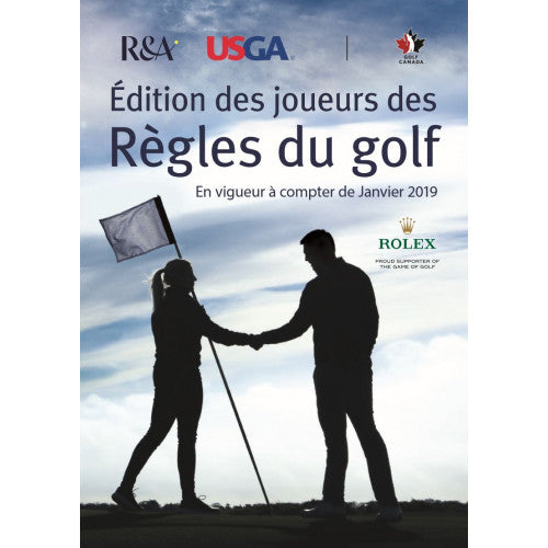 Player's Edition of the Rules of Golf - French