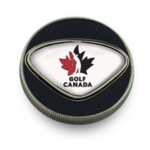 Golf Canada Metal Ball/ Poker Marker - FREE PERSONALIZATION