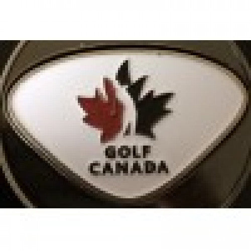 Golf Canada Square Metal Ball/ Poker Marker - FREE PERSONALIZATION