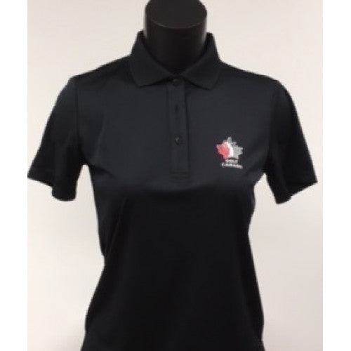 Golf Canada Women's Levelwear Polo - Black