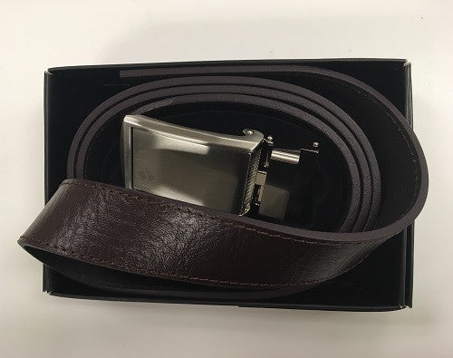 CLEARANCE - Golf Canada Belt - Brown/Silver