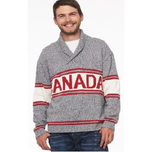 Golf Canada Knit Sweater- Mens
