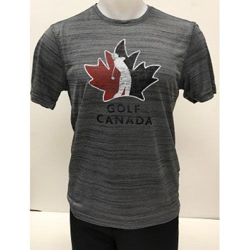 Golf Canada Men's T-Shirt – Grey