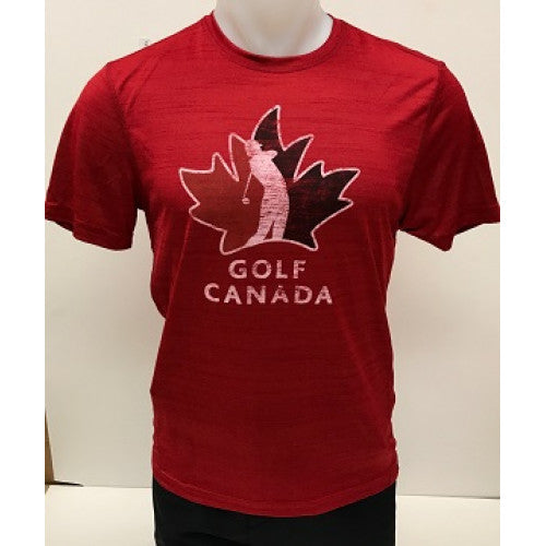 Golf Canada Men's T-Shirt – Red