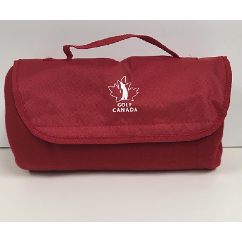 Golf Canada Roll-up Fleece Blanket