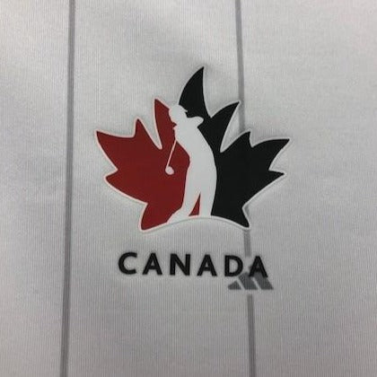 Official Team Canada adidas Men's Polo – white with grey